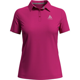 Odlo F-Dry Polo Manches courtes Femme, beetroot purple